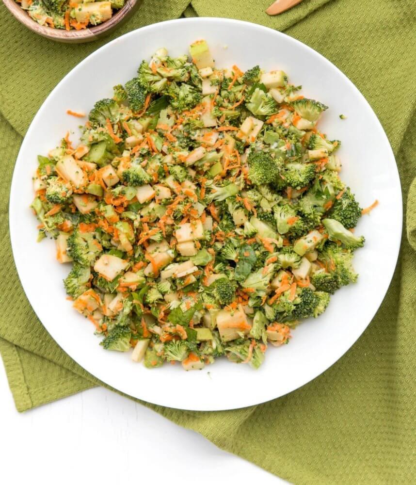 saladmenu granny smith apple vegetable salad 858x1000