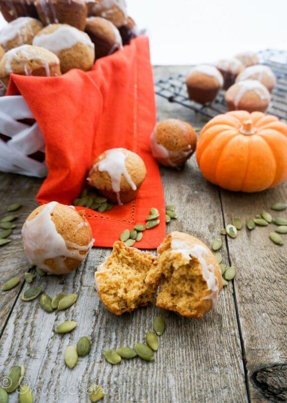 pumpkin muffins with glaze recipe  728x1024 1