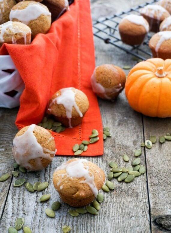pumpkin muffins with glaze  754x1024 1