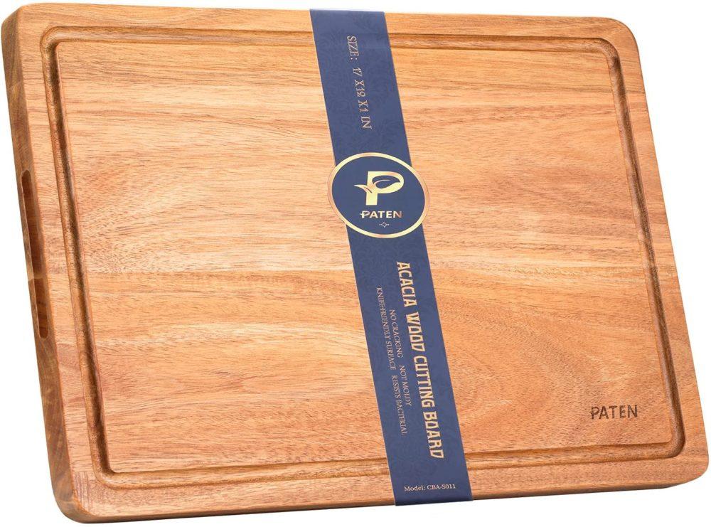 wooden cutting board equipment