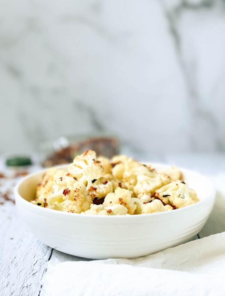 Roated spiced cauliflower 3