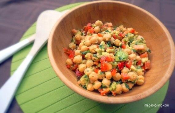 avo salad peas 1024x666 1