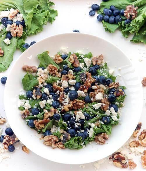 blueberrywalnutsalad