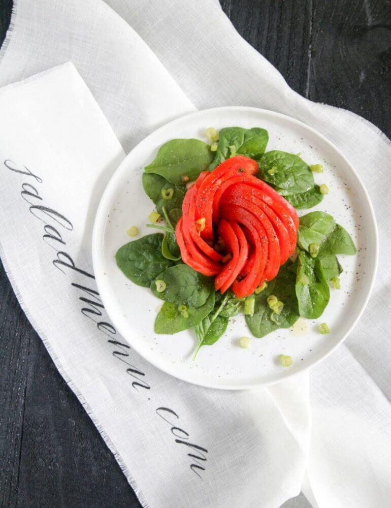 saladmenu simple tomato and spinach salad 770x1000