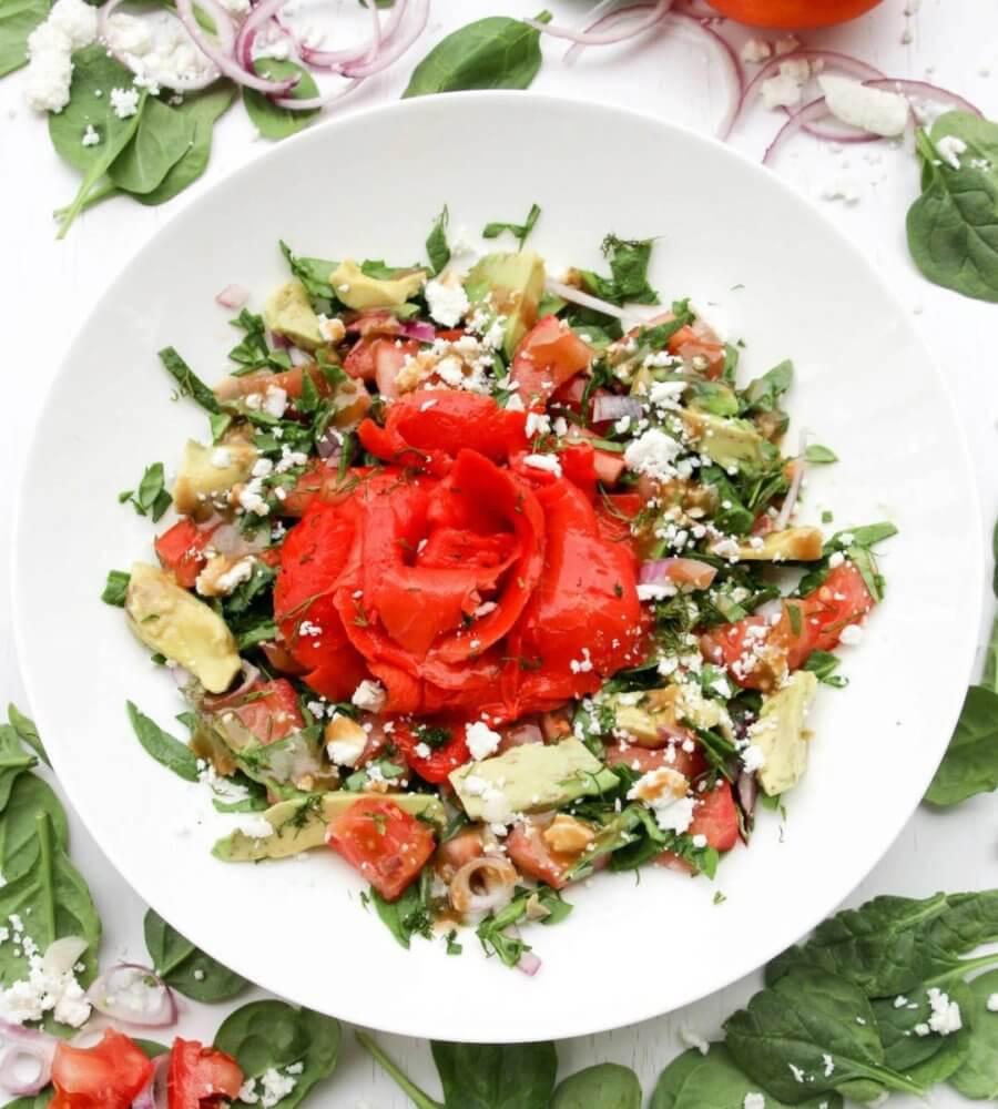 saladmenu smoked salmon avocado feta salad 900x1000