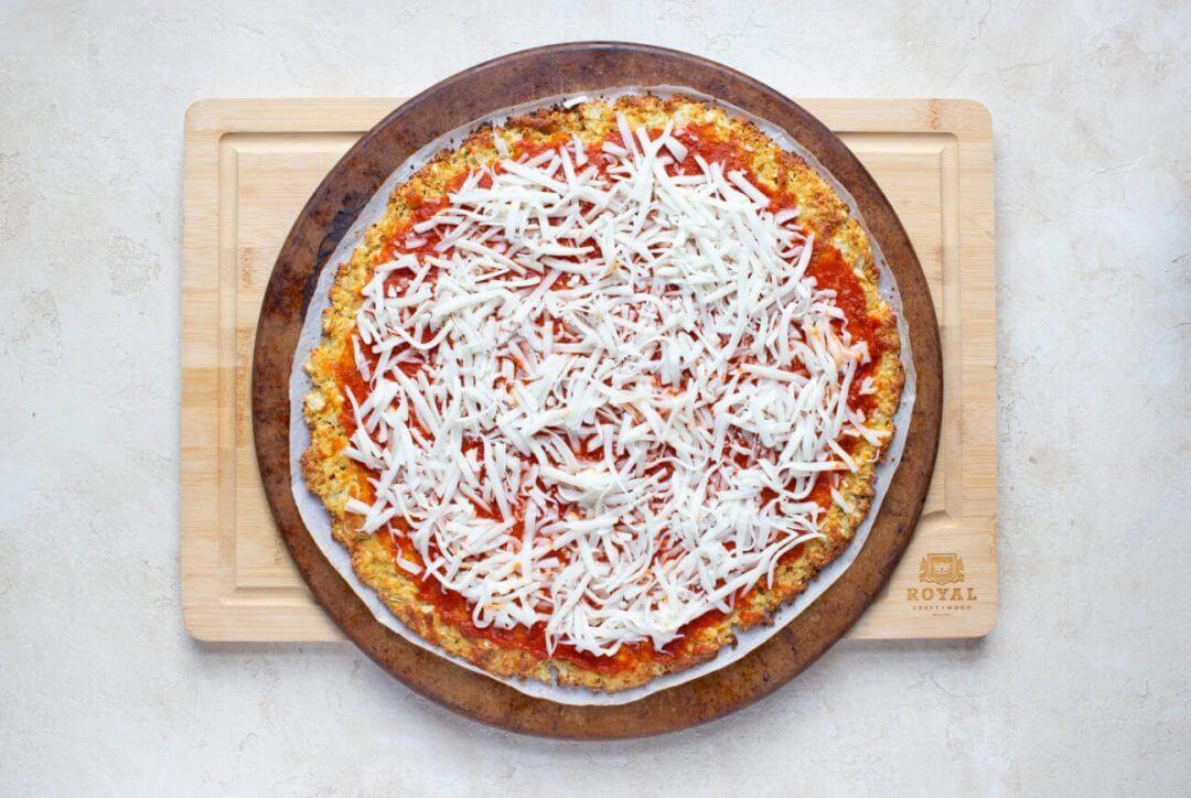Cauliflower Crust Veggie Pizza 11