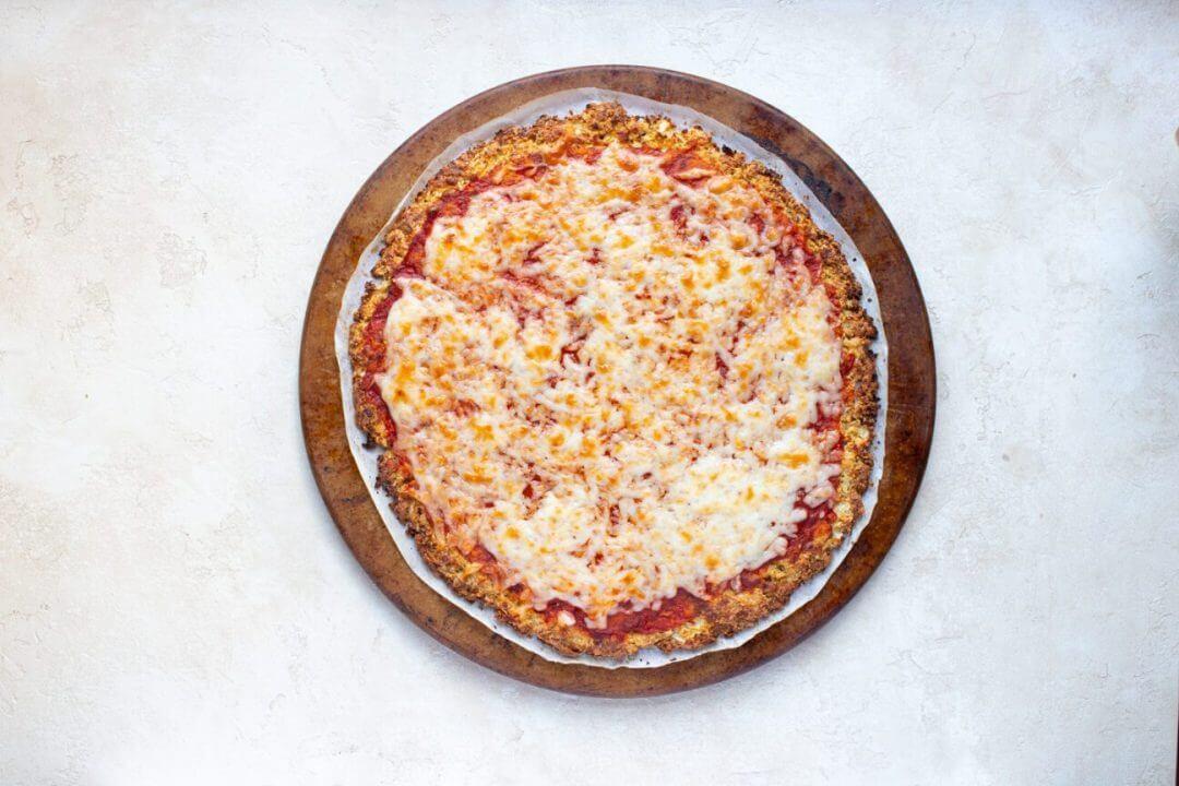 Cauliflower Crust Veggie Pizza 12