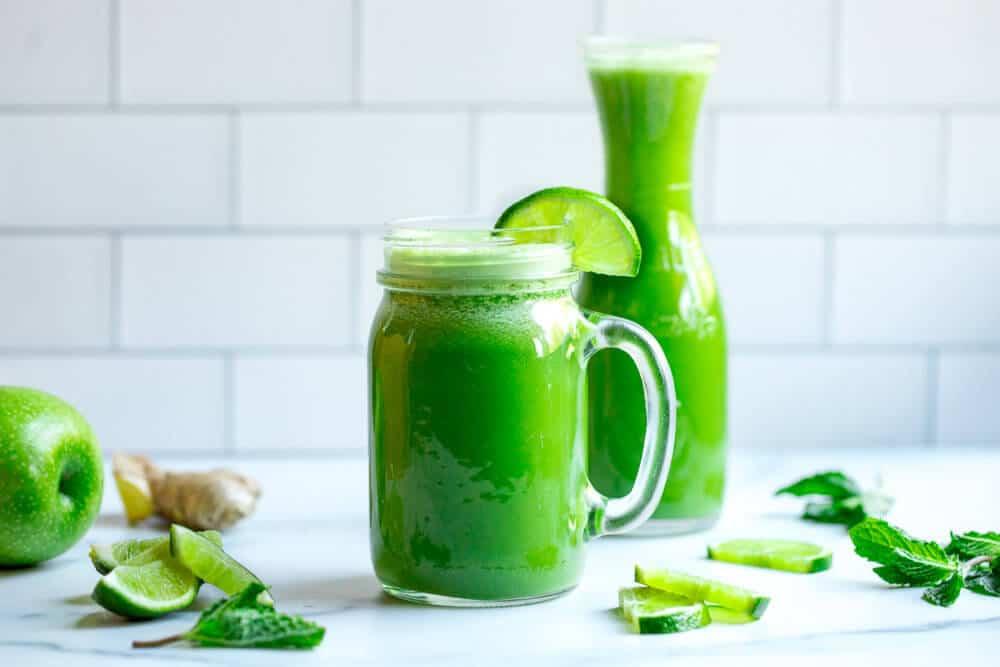 Green Mojito Juice