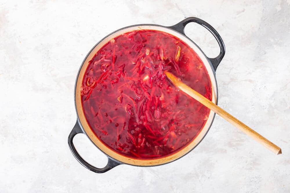 Simple and Classic Borscht
