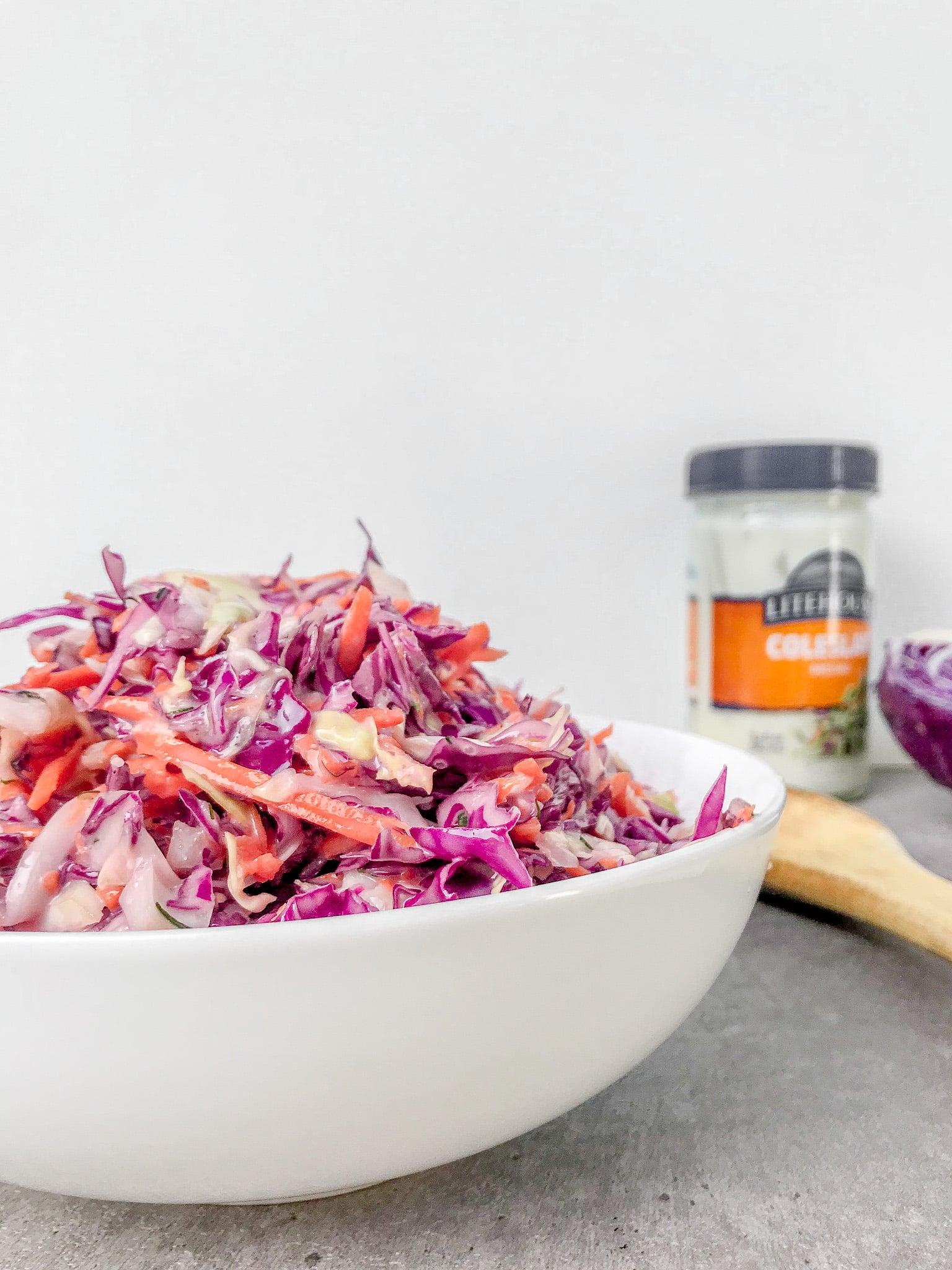 Homemade Coleslaw Salad