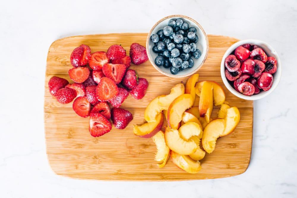 fruit summer salad
