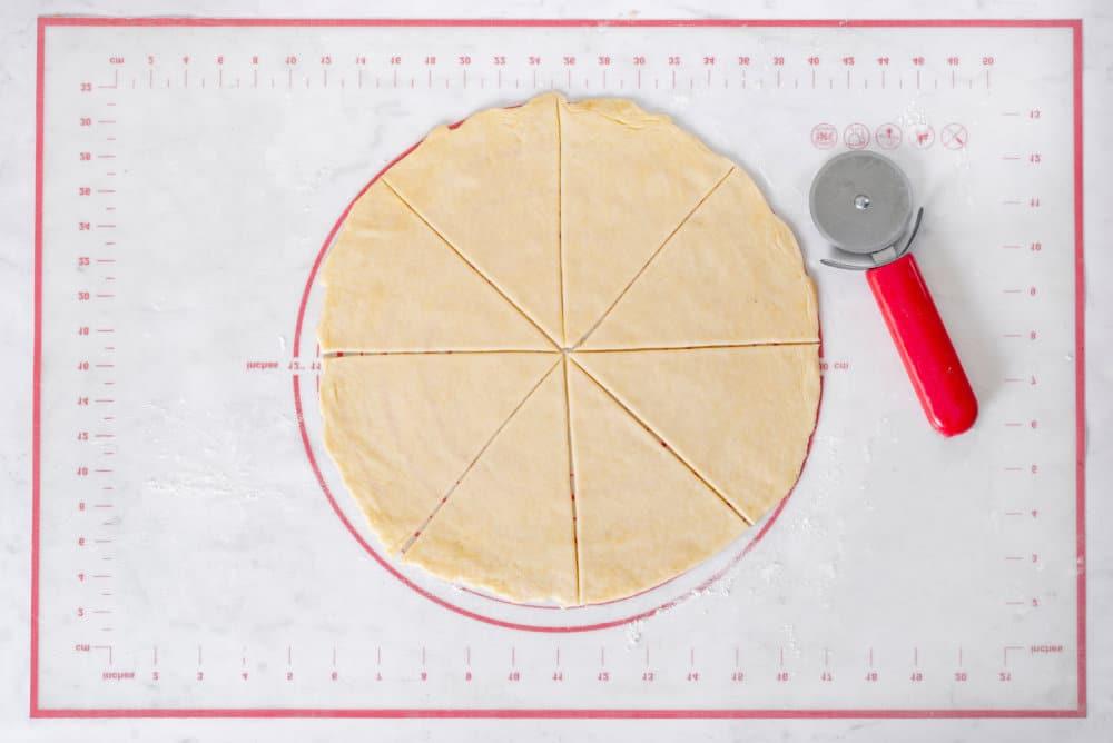 Sugarless Dough Rogaliki (rugelach)