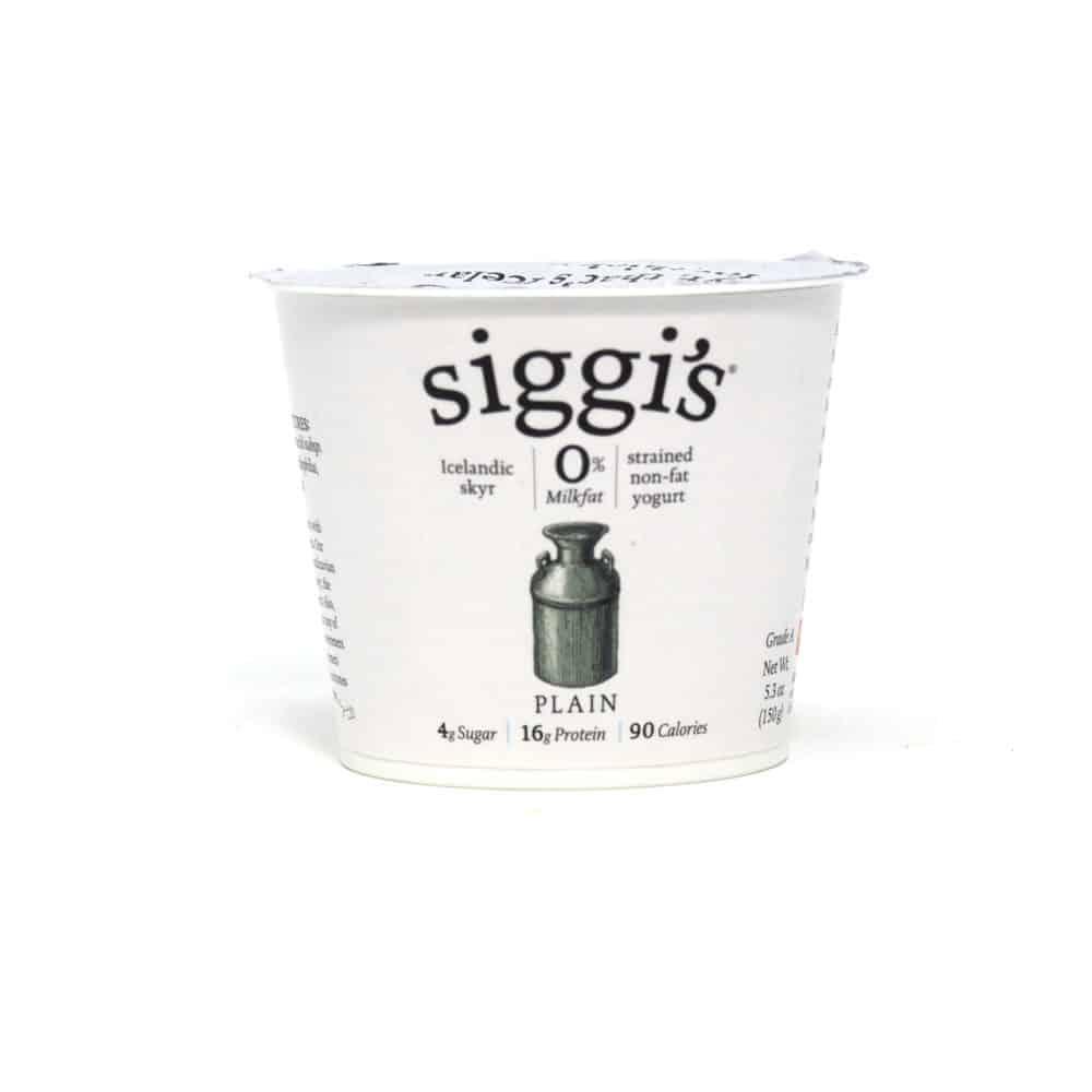 plain yogurt ingredient